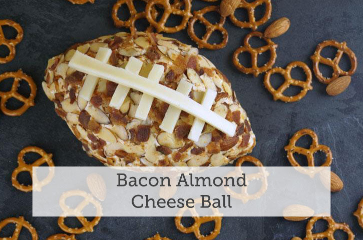 Bacon Almond Cheese Ball