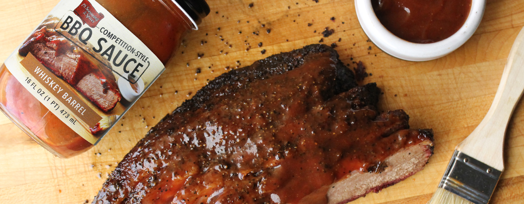Whiskey Barrel BBQ Sauce Brisket