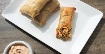 Southwest Grilled Egg Roll