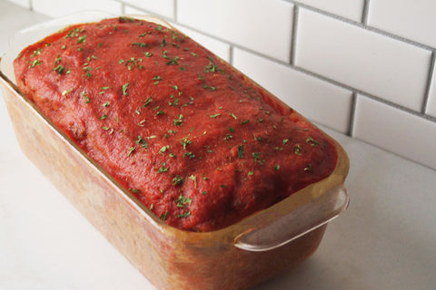 Sweet Onion Applewood Meatloaf