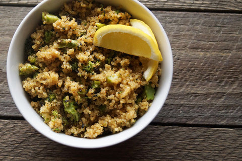 Tangy Honey Mustard Quinoa