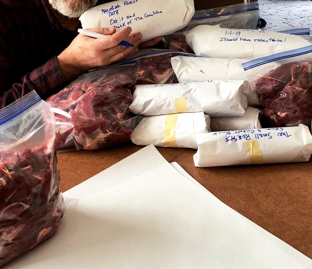 Packing Venison