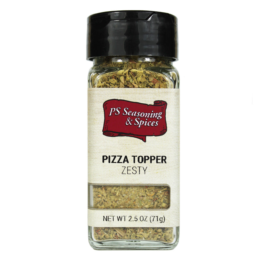 Zesty Pizza Topper Herb Spice Blend