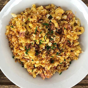 Irish Stout Cheddar Jalapeno Mac and Cheese