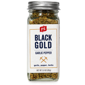 Black Gold - Garlic Pepper