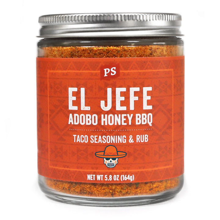 El Jefe Adobo Honey BBQ Taco Seasoning