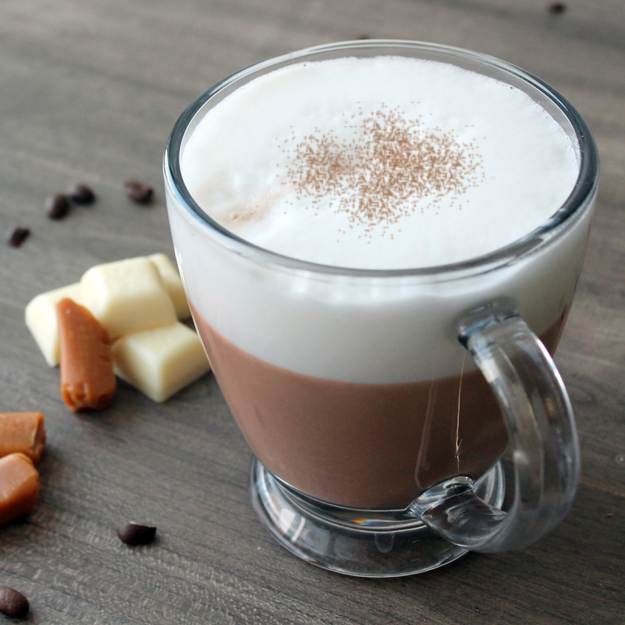 White Chocolate Caramel Latte Cappuccino Mix
