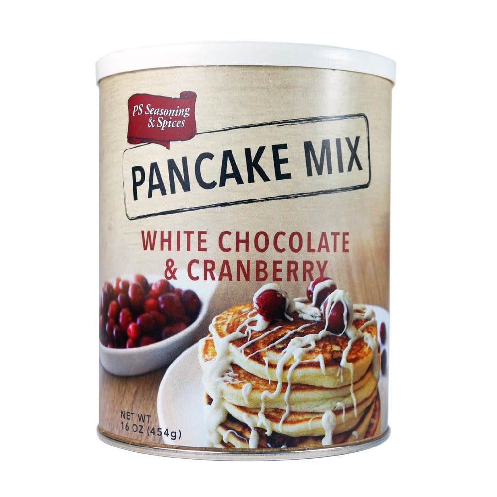 PS Seasoning White Chocolate & Cranberry Pancake Mix