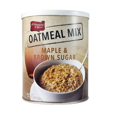 PS Seasoning Maple & Brown Sugar Oatmeal Mix