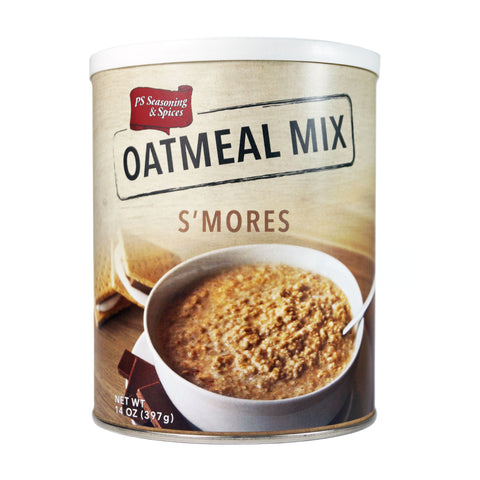 PS Seasoning S'mores Oatmeal Mix