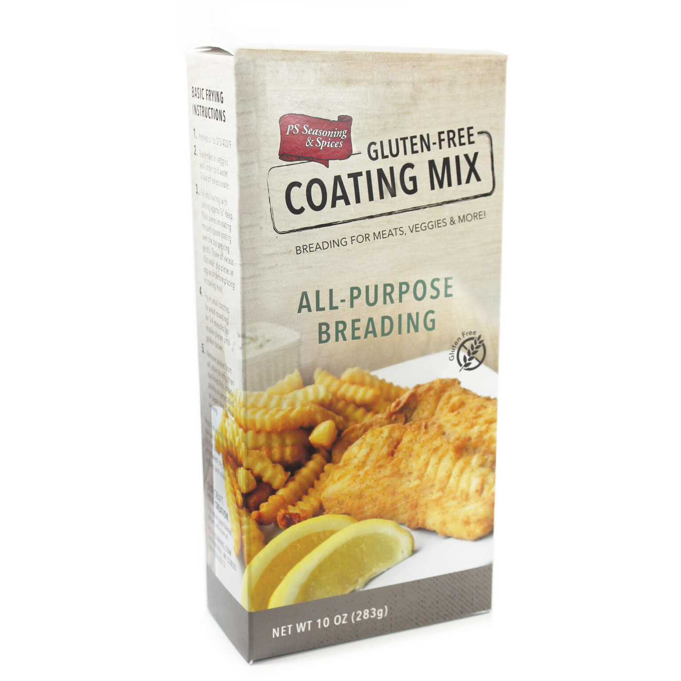 Gluten Free All Purpose Coating Mix Ps Seasoning Amp Spices