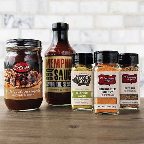 The Backyard BBQ Box Seasoning & Sauce Gift Set