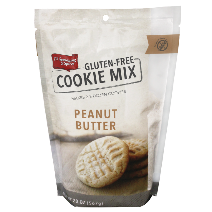 Gluten Free Peanut Butter Cookie Mix