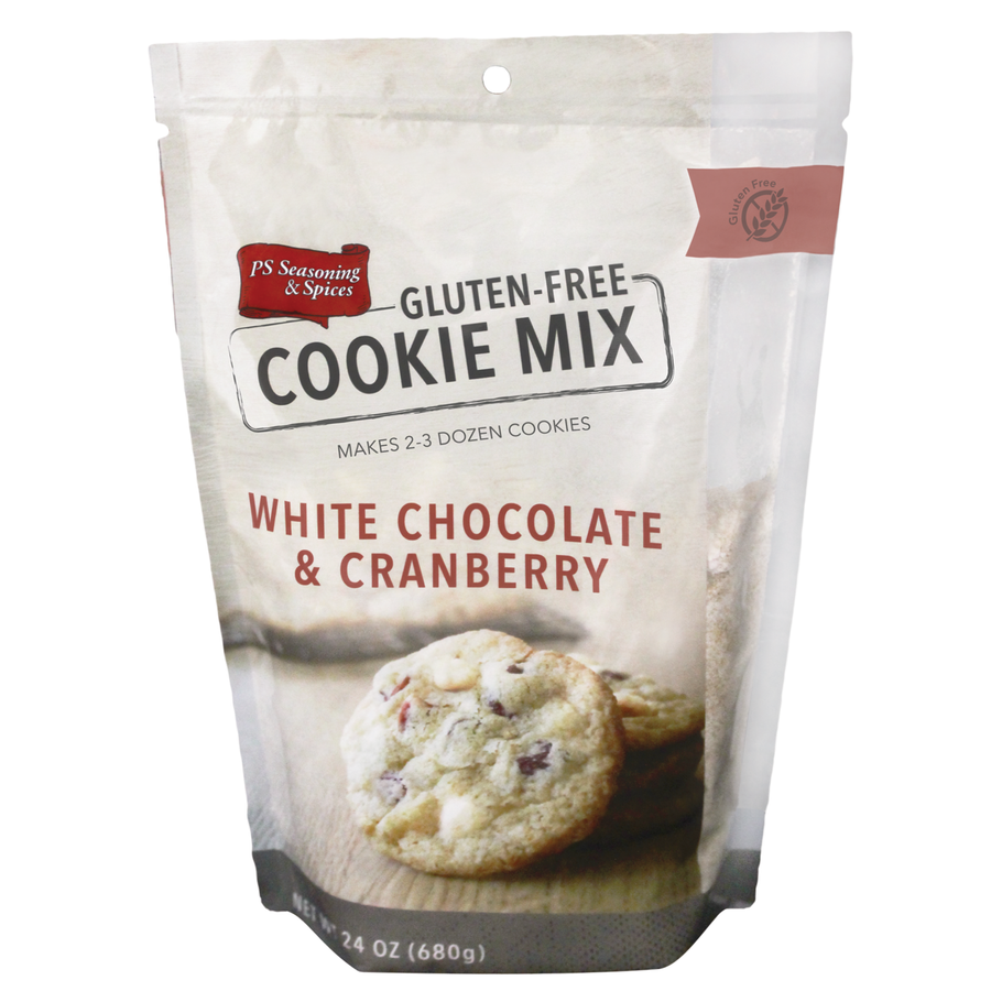 Gluten Free White Chocolate & Cranberry Cookie Mix