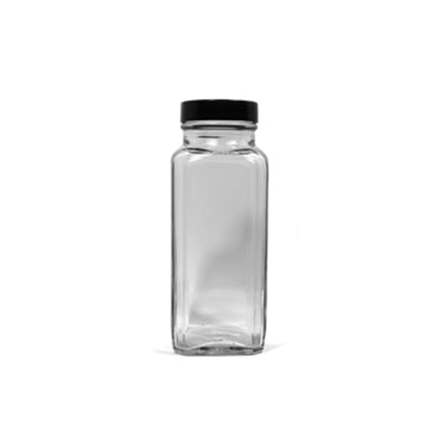 Ps seasoning spices square glass spice jars 8 oz