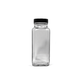 PS Seasoning & Spices Square Glass Spice Jars 8 oz.
