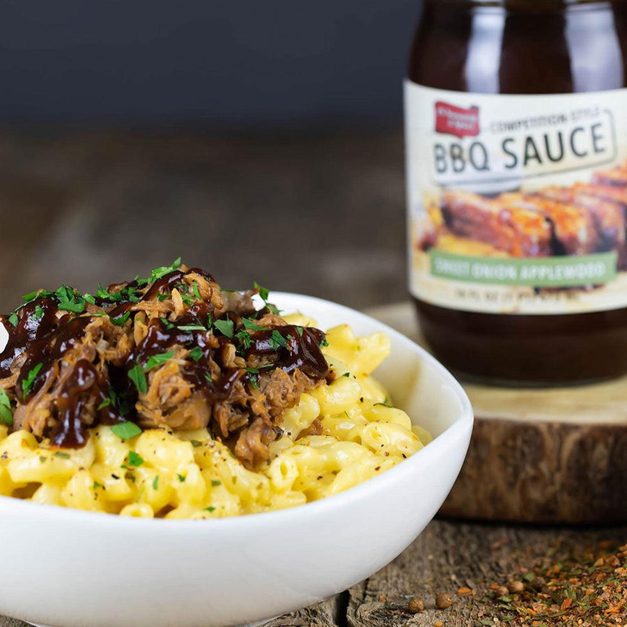 BBQ Pulled Pork Mac & Cheese
