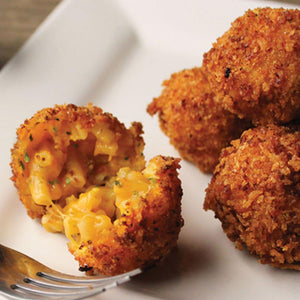 Fried Jalapeno Bacon Mac & Cheese Bites