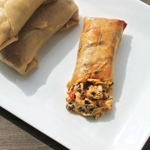 Southwest Style Grilled Egg Rolls