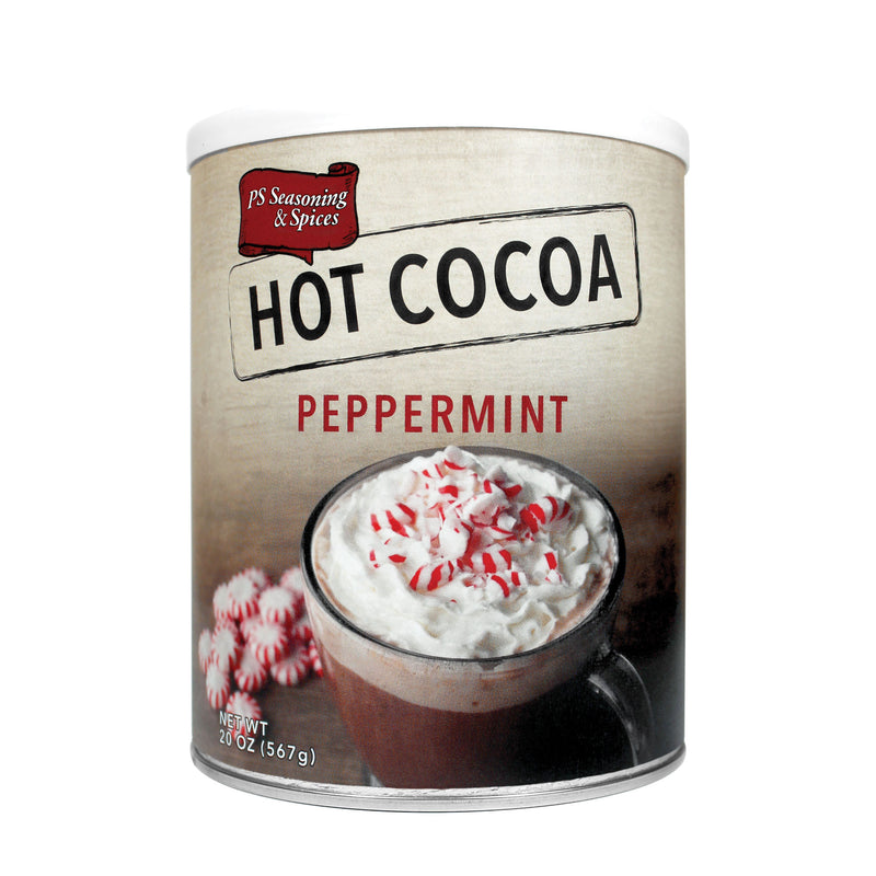 Peppermint Hot Cocoa Mix Canister
