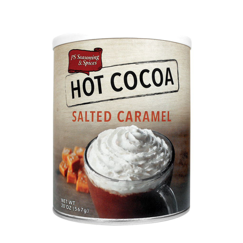 Salted Caramel Hot Cocoa Mix Canister