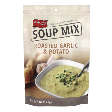 Roasted Garlic and Potato Soup Mix