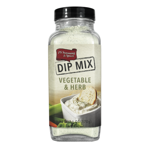 Vegetable & Herb Dip Mix