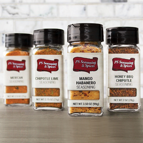 Sizzlin' Southern Fiesta Seasoning 4-Pack Gift Set