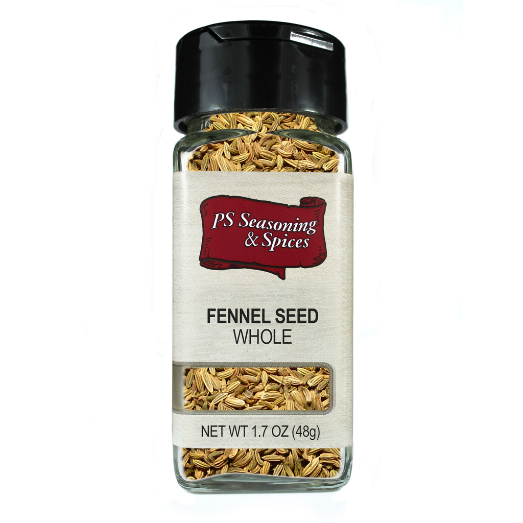 Whole Fennel Seed Spice Jar