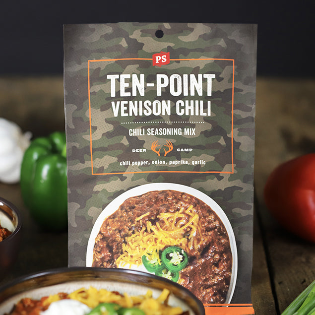Ten-Point Venison Chili Mix