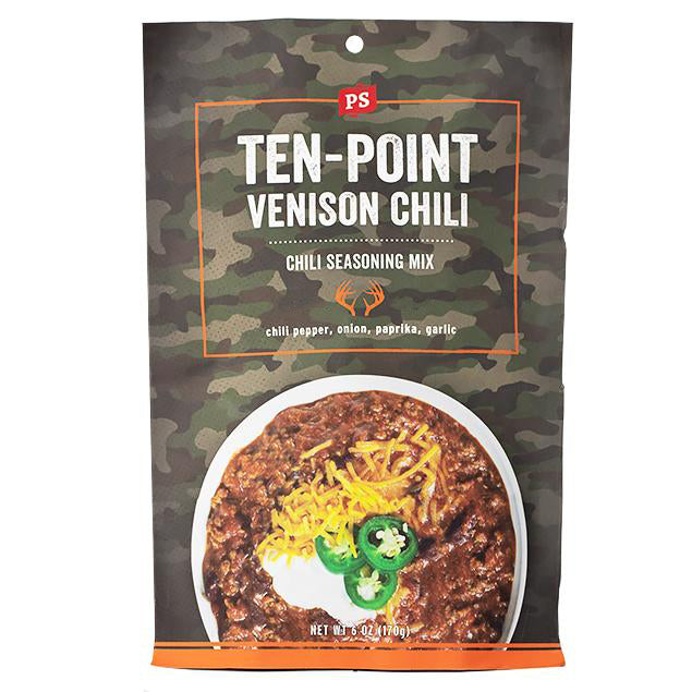 Ten Point Venison Chili