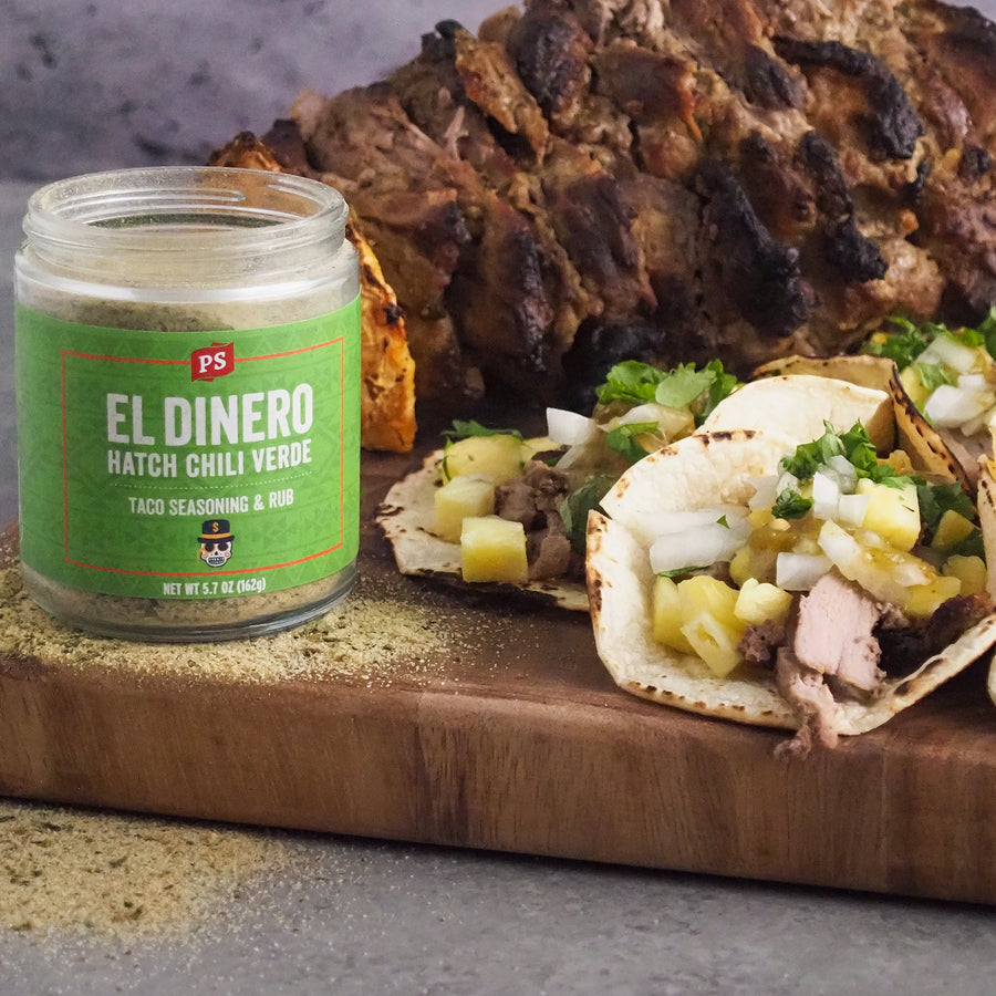 El Dinero - Hatch Chili Verde Taco Seasoning & Rub