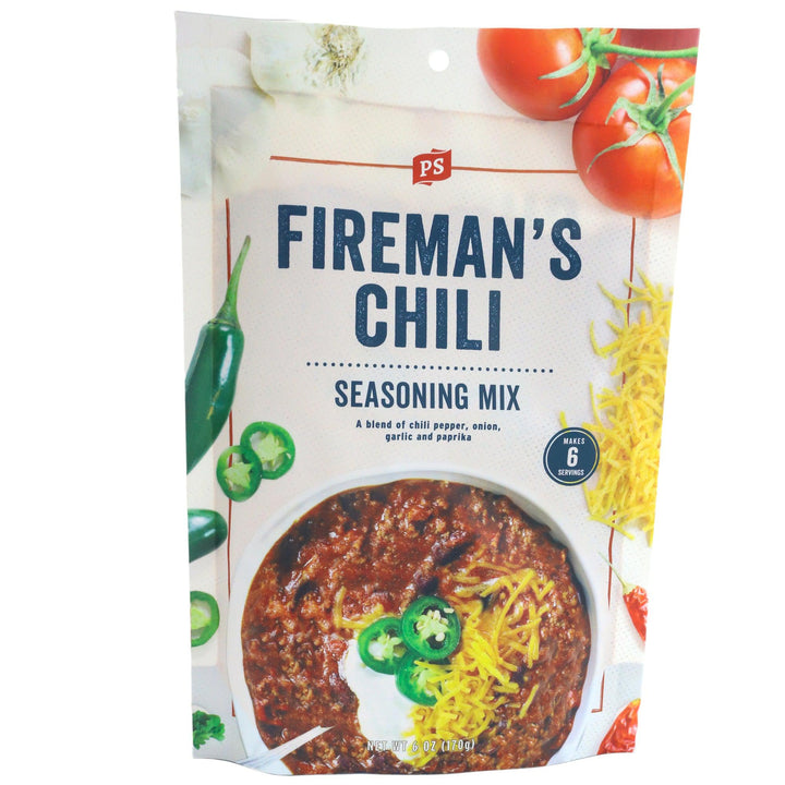 PS Seasoning Fireman's Chili Mix