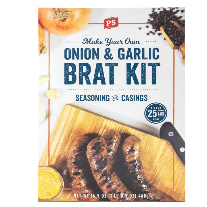 Onion & Garlic Bratwurst Kit