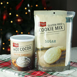 Gluten-Free Sugar Cookie Mix and Salted Caramel Hot Cocoa Mix