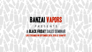 Black Friday Seminar