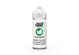 Double Menthol - Really Good Juice Co