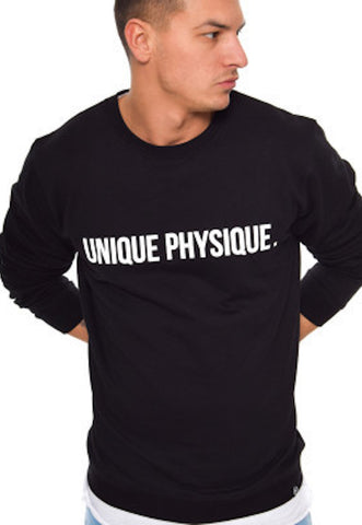 Unique Physique LUCID BLACK SWEATER