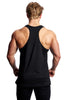 Beyond Genetics PRO FIT BODYBUILDING STRINGER VEST - BLACK