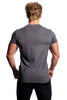 Beyond Genetics FLEX FIT BODYBUILDING T SHIRT SLATE GREY