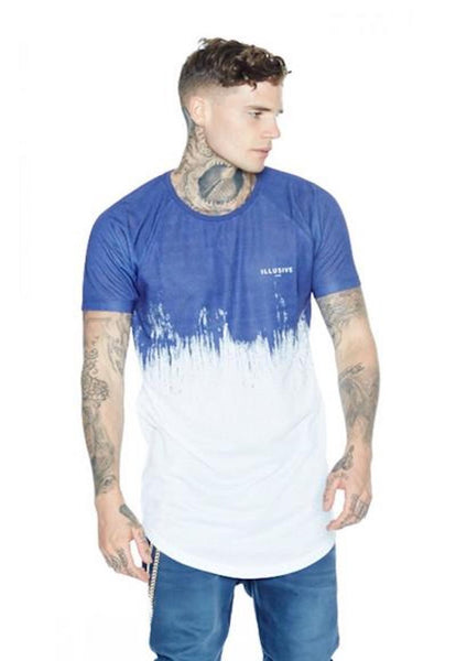 Illusive London Paint Strike Tee - Blue