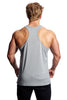 Beyond Genetics PRO FIT BODYBUILDING STRINGER VEST CHARCOAL