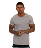 Illusive London Parachute Hem Tee – Grey