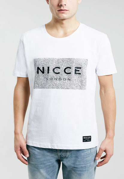 Nicce White Box T-shirt - White