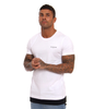 Illusive London Parachute Hem Tee – White