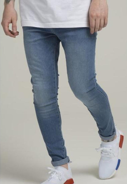 Illusive London A HAREEM JEANS – LIGHT BLUE WASH