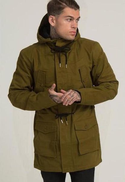 Illusive London A PARKA – KHAKI