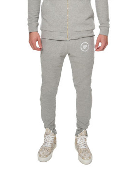 Unique Physique URBAN GREY FITTED JOGGERS