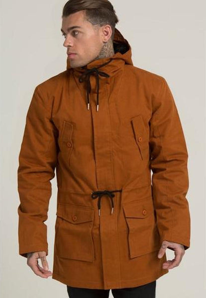 Illusive London A PARKA – ORANGE