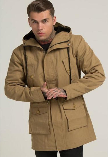Illusive London A PARKA – BEIGE